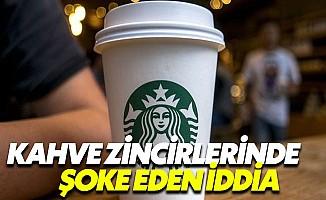 Starbucks ve Nero gibi kafelerde tehlikeli bakteri
