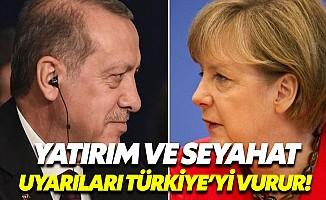 Almanya'nın Türkiye uyarısı Türk ekonomisini kötü etkiler