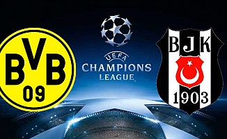 Borussia Dortmund'un kura çekiminde rakip Beşiktaş