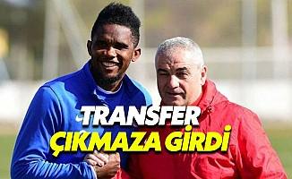 Fenerbahçe'de Eto'o transferi çıkmaza girdi