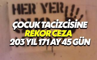Giresun'da çocuk istismarına tam 203 yıl 171 ay hapis cezası