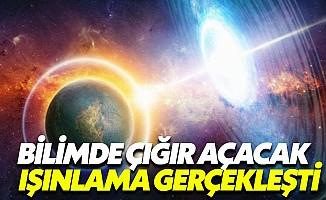 İlk kez Dünya'nın yörüngesine ışınlama gerçekleşti