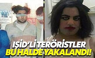 IŞİD teröristleri kadın kılığında yakalandı