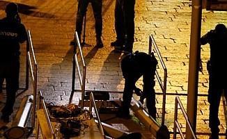 İsrail, Mescid-i Aksa'nın kapısındaki demir korkulukları kaldırdı