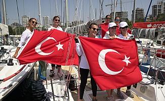 Kadınlar, 'Deniz Kızı' Ulusal Yelken Kupası için yelkenler açılıyor
