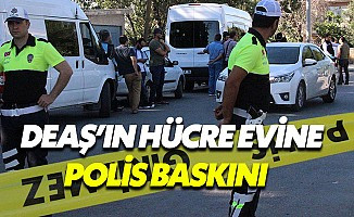 Konya'da DEAŞ'ın hücre evine baskın: 5 terörist etkisiz