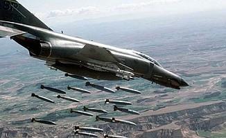 Kuzey Irak'a hava harekatı; 9 terörist öldürüldü