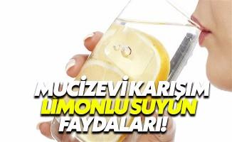 Limonlu su deyip geçmeyin, kilo vermeden, cilde birçok hastalığa şifa kaynağı!