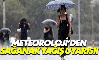 Meteoroloji cuma günü için İstanbulluları uyardı! Sağanak yağış geliyor, hava sıcaklığı 5 derece düşecek