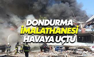 Samsun'da dondurma imalathanesinde patlama: Çok sayıda yaralı var