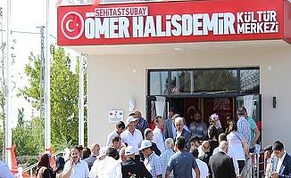 Şehit Ömer Halisdemir'in İsminin Verildiği Kültür Merkezi Açıldı