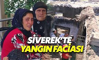 Siverek'teki orman yangını 3 çocuğun canını aldı