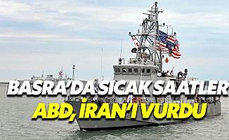 Son Dakika... ABD savaş gemisi İran gemisini vurdu