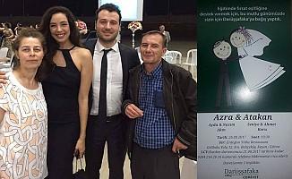 Azra Akın ile Atakan Koru'nun düğünleri 26 Ağustos'ta