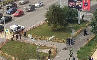 Barcelona'dan Sonra Rusya'da Bıçaklı Saldırı 8 Yaralı