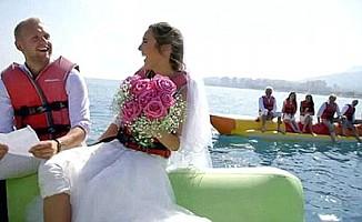 Evlilik programında damat adayından ifşa