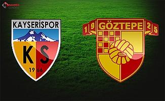 Göztepe Kayserispor maçı ne zaman saat kaçta şifresiz hangi kanalda