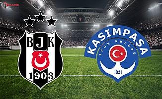 Kasımpaşa Beşiktaş maçı ne zaman saat kaçta şifresiz hangi kanalda
