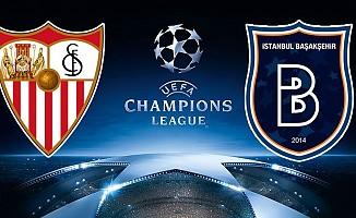 Sevilla Başakşehir rövanş maçı ne zaman saat kaçta şifresiz hangi kanalda