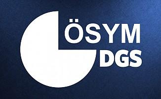 2017 DGS sınav sonuçları ÖSYM'de