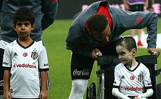 Beşiktaş'ın özel bir konuğu vardı
