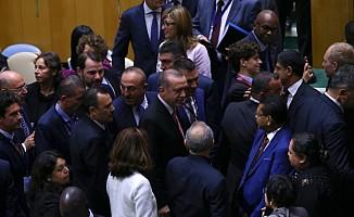 BM 72. Kurul Toplantısında Erdoğan'a Büyük İlgi