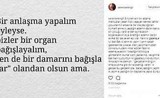 Seren Serengil Gülben Ergen'i Topa Tuttu