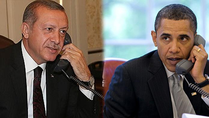 Erdoğan ve Obama görüşmesi