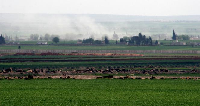 IŞİD Mevzileri Obüslerle Vuruldu