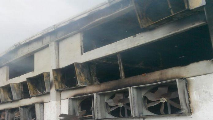 Eski bakanın çocuklarına ait tesis yandı