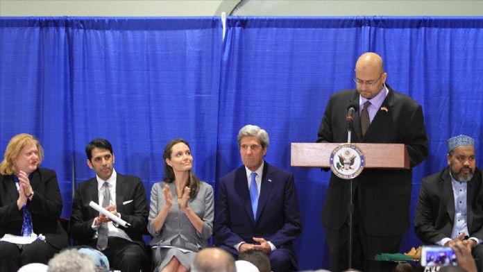 John Kerry ve Angelina Jolie iftar programına katıldı