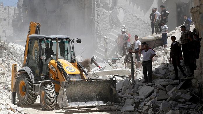 Muhaliflerden Esad'a saldırı