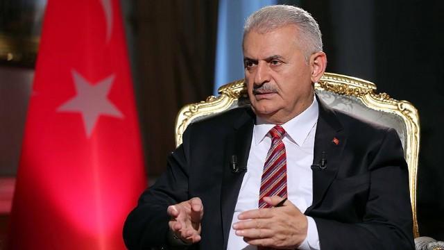 Başbakan Binali Yıldırım,''Milletimiz İş Bizde'' dedi.
