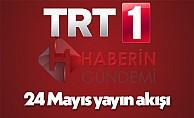 TRT 1 canlı yayın akışı 24 Mayıs Çarşamba Diriliş Ertuğrul bugün var mı neden yok