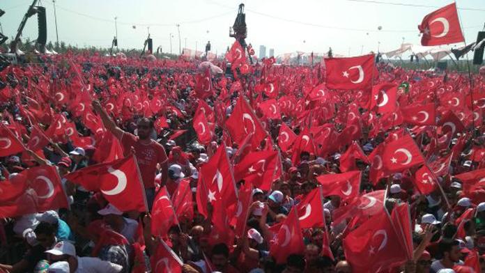Yenikapı'da Düzenlenen Demokrası ve Şehitler Mitingi CANLI izle