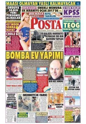 Haberin Gündemi - Son Dakika - Gündem - Spor - Magazin - Teknoloji - 17.11.2016 Manşeti