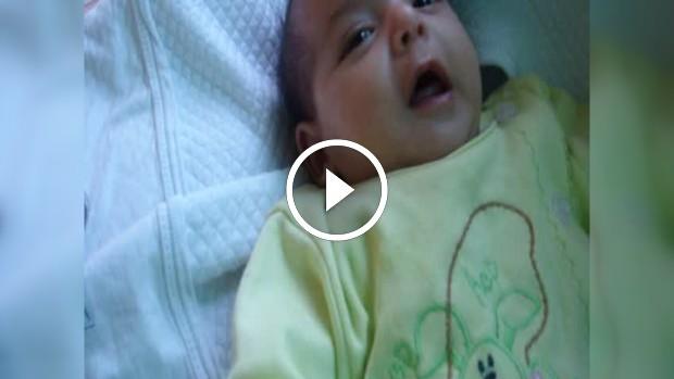 Ne güzel bir bebek