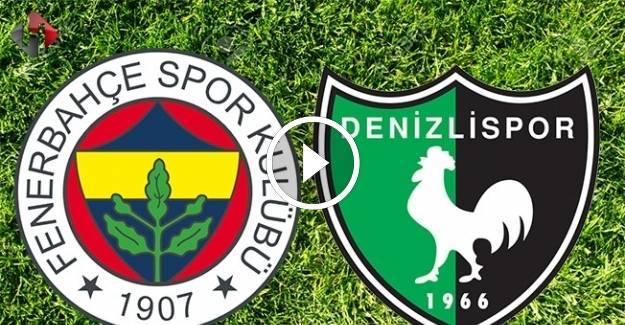 Fenerbahçe Denizlispor 5-1 Geniş Özet