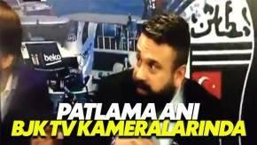 İstanbul patlama anı BJK TV